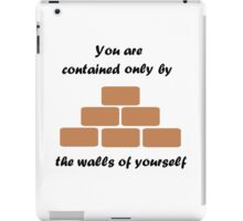 The Walls Of Yourself iPad Case/Skin