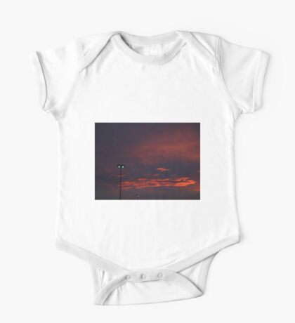 1014 - HDR Panorama - Sunset One Piece - Short Sleeve