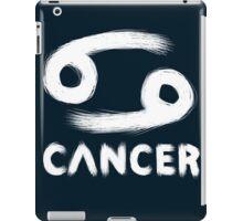 Cancer (White) iPad Case/Skin