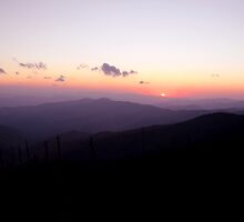 Sunset at Clingman's Dome by shotzbyjay