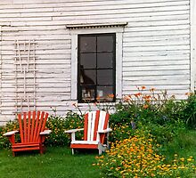 Chairs New Brunswick Canada by andykazie