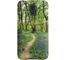 Bluebell Trail Samsung Galaxy Case/Skin