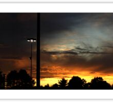 1017 - HDR Panorama - Sunset Sticker