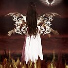 Angel of the fire ... by JustPaula