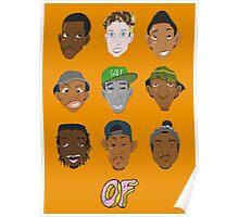 Odd Future Heads Poster