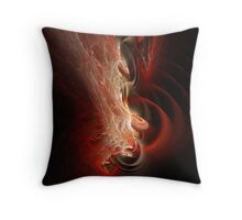 Red dream Throw Pillow