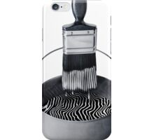 Zebra Paint iPhone Case/Skin