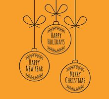 Merry Christmas Decoration Unisex T-Shirt