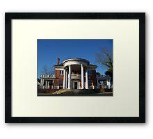 Howard House Framed Print