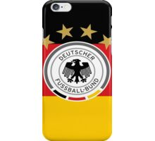 DFB on German Flag iPhone Case/Skin