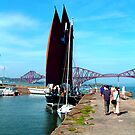 South Queensferry Harbour by Tom Gomez