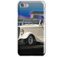 1933 Ford Cabriolet II iPhone Case/Skin