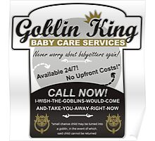 Goblin King Baby Care Services Poster
