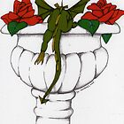 Oscar and the Roses(Urn) Sold  by Donnahuntriss