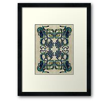Celtic Dragons Framed Print