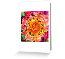 Mandala Dance Greeting Card
