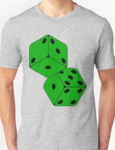 TUMBLING DICE-GREEN T-Shirt