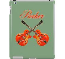 Rocker  Red iPad Case/Skin