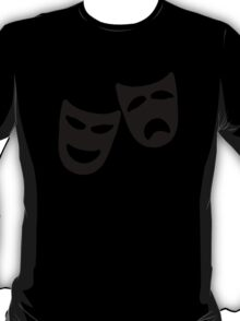 Tragedy and Comedy Masks T-Shirt