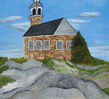 Church on Star Island by Suzanne Buckland