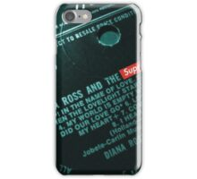 Diana And The SUPREMEs iPhone Case/Skin
