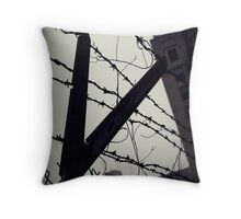 Cut down to the wire Throw Pillow
