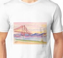 tejo . quick coffee table sketch. cafe in Unisex T-Shirt