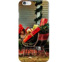 A Pause For Santa iPhone Case/Skin