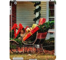 A Pause For Santa iPad Case/Skin