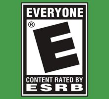 Content Rated by ESRB Kids Tee