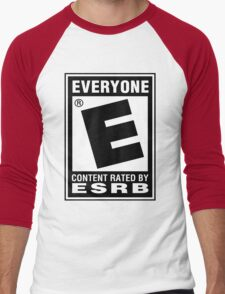 Content Rated by ESRB Men's Baseball ¾ T-Shirt