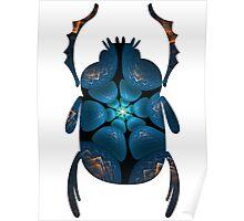 Crystalline Well of Power | Egyptian Scarab Beetles  Poster
