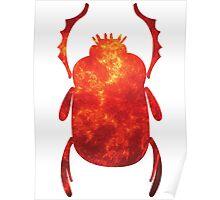 Ra: The Morning Sun | Egyptian Scarab Beetles  Poster