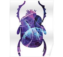 Planetary Gifts From The Universal Light [Version 2] | Egyptian Scarab Beetles  Poster
