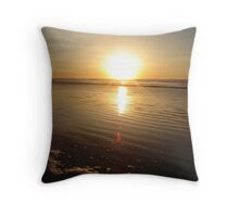 Newport Sunset Throw Pillow