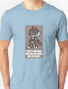 Tyrunt Can't Give Hugs Unisex T-Shirt
