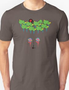Vector rain Unisex T-Shirt