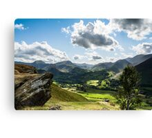 View from Cat Bells Canvas Print