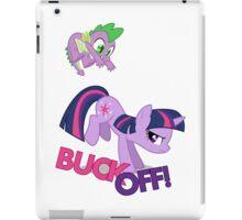 """BUCK OFF!"" iPad Case/Skin"