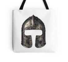 Medieval Armour Helmet Tote Bag