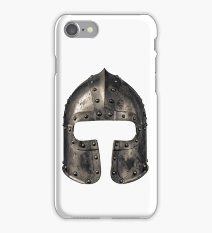 Medieval Armour Helmet iPhone Case/Skin