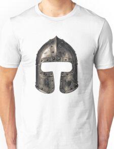 Medieval Armour Helmet Unisex T-Shirt