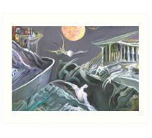 Mutant landscape  Art Print