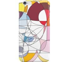 Vibrant Intersections iPhone Case/Skin