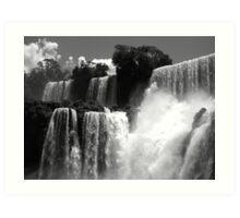 Iguazu Art Print