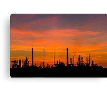 Industrial Dawn Canvas Print
