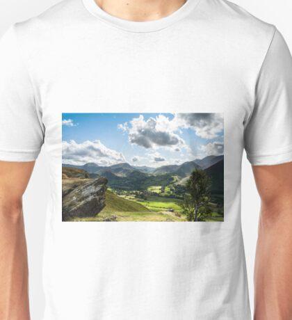 View from Cat Bells Unisex T-Shirt