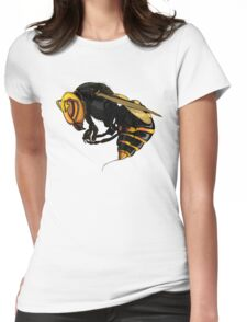 Japanese  wasp Womens Fitted T-Shirt