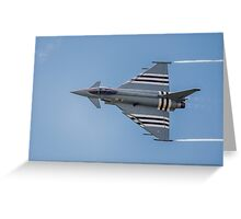 Pulling G Force Greeting Card