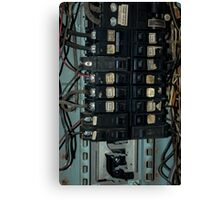 Fuse and Breaker Box Canvas Print